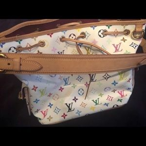 Louis Vuitton Bags - Louis Vuitton Petit Noe Coated Canvas Multicolored
